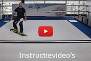 Instructievideo indoor snowboardles